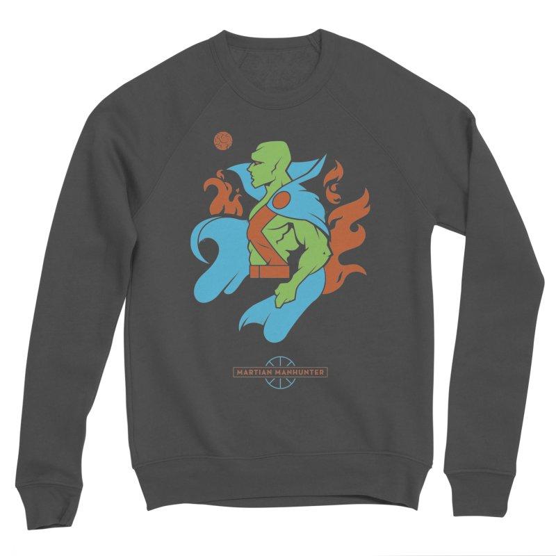 Martian Manhunter - DC Superhero Profile Men's Sponge Fleece Sweatshirt by daab Creative's Artist Shop