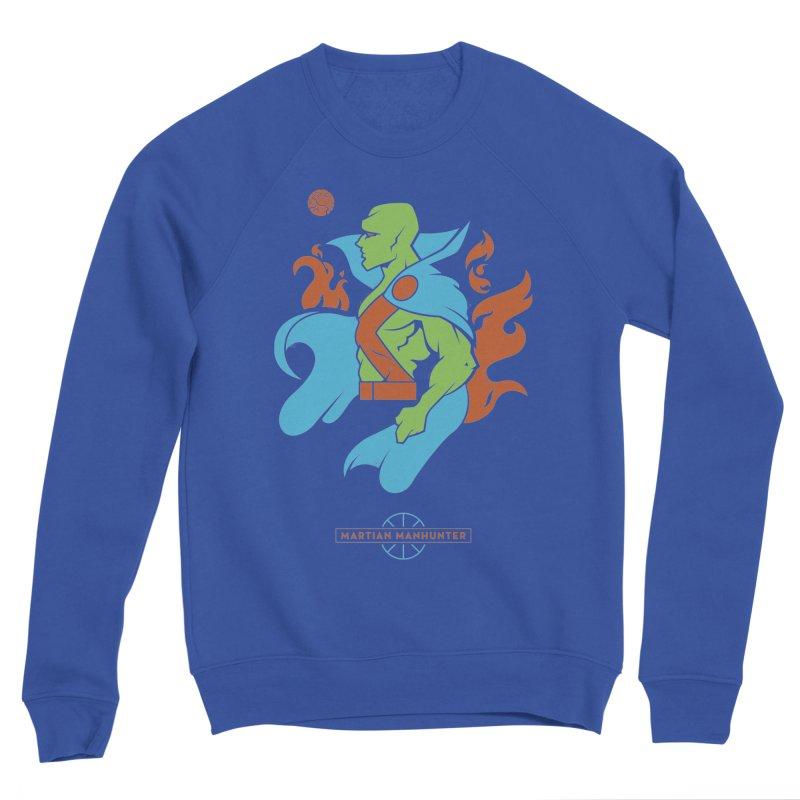Martian Manhunter - DC Superhero Profile Women's Sweatshirt by daab Creative's Artist Shop
