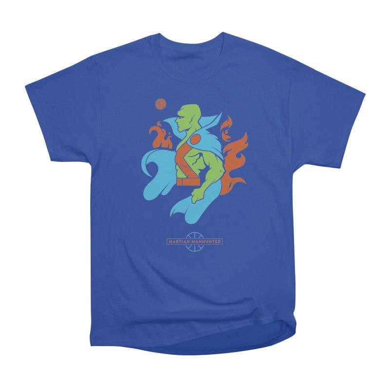 Martian Manhunter - DC Superhero Profile Women's Heavyweight Unisex T-Shirt by daab Creative's Artist Shop