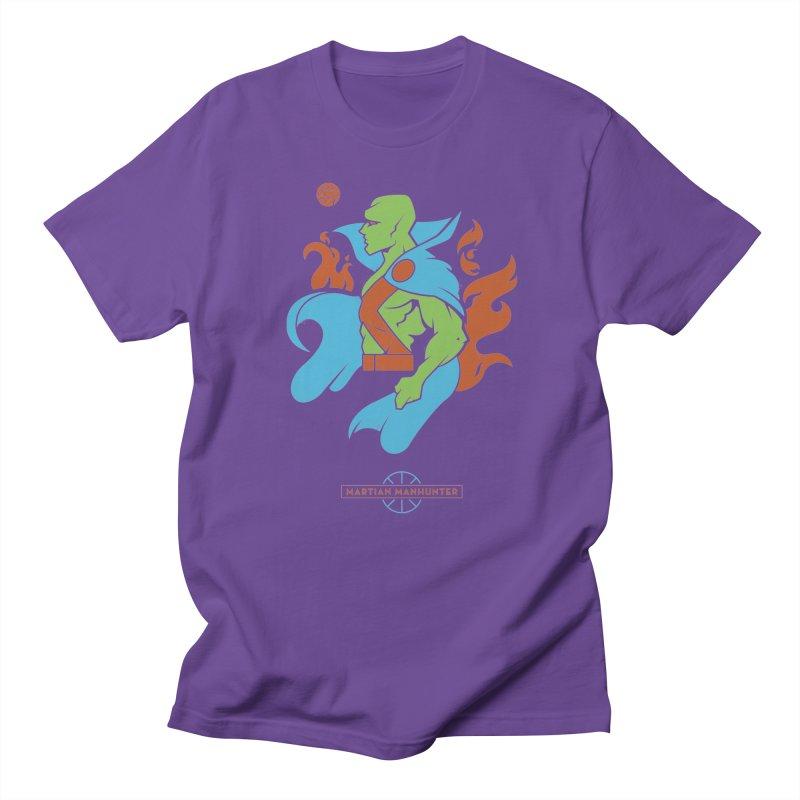 Martian Manhunter - DC Superhero Profile Women's Regular Unisex T-Shirt by daab Creative's Artist Shop