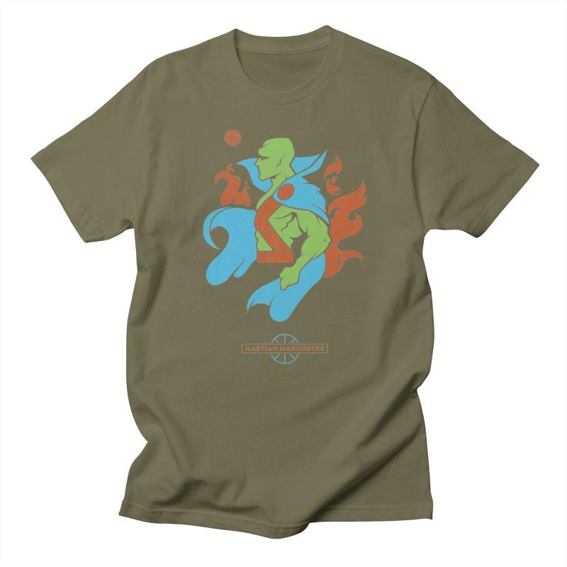 Martian Manhunter - DC Superhero Profile Men's Regular T-Shirt by daab Creative's Artist Shop