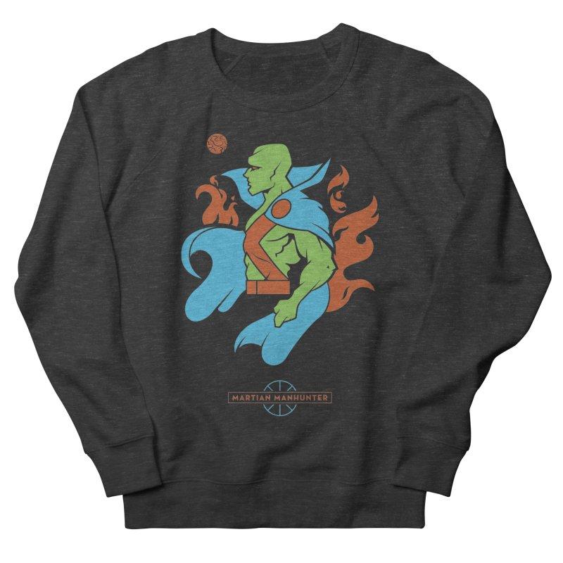 Martian Manhunter - DC Superhero Profile Women's French Terry Sweatshirt by daab Creative's Artist Shop