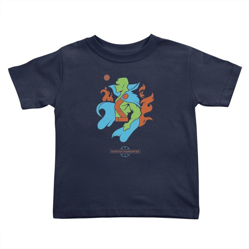 Martian Manhunter - DC Superhero Profile Kids Toddler T-Shirt by daab Creative's Artist Shop