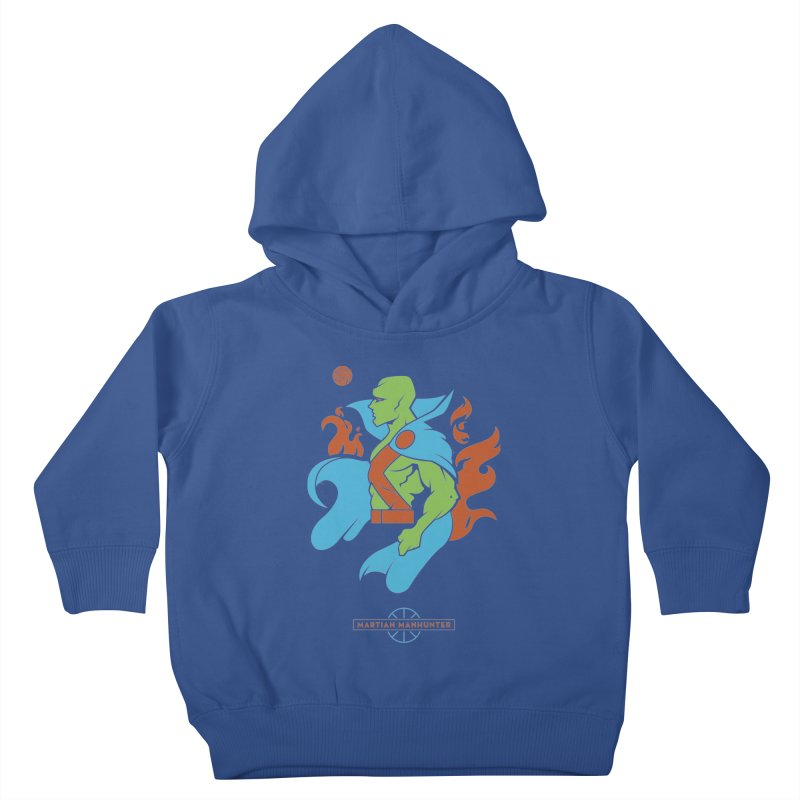 Martian Manhunter - DC Superhero Profile Kids Toddler Pullover Hoody by daab Creative's Artist Shop