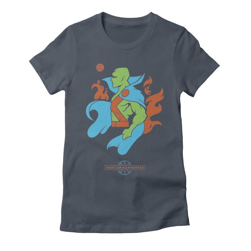 Martian Manhunter - DC Superhero Profile Women's T-Shirt by daab Creative's Artist Shop