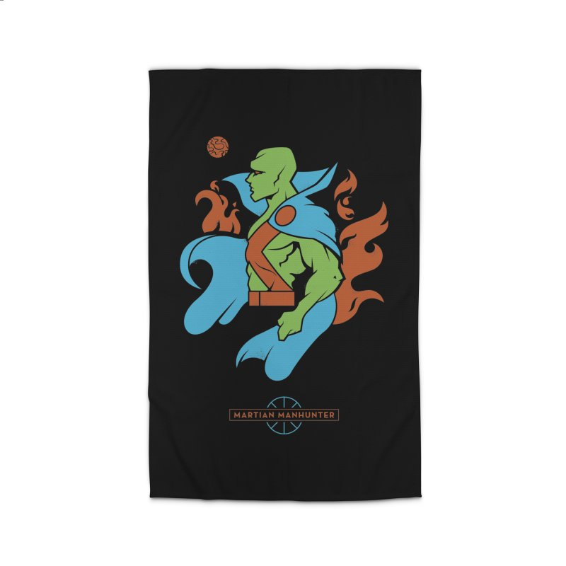Martian Manhunter - DC Superhero Profile Home Rug by daab Creative's Artist Shop