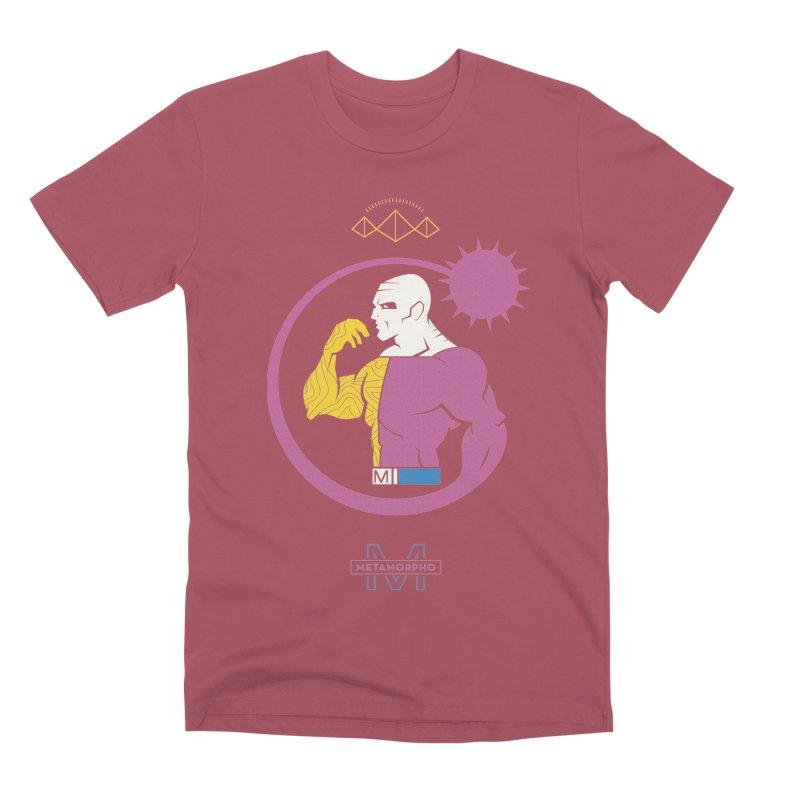Metamorpho - DC Superhero Profiles Men's Premium T-Shirt by daab Creative's Artist Shop