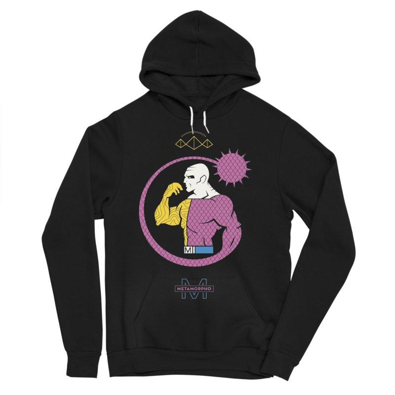 Metamorpho - DC Superhero Profiles Women's Sponge Fleece Pullover Hoody by daab Creative's Artist Shop