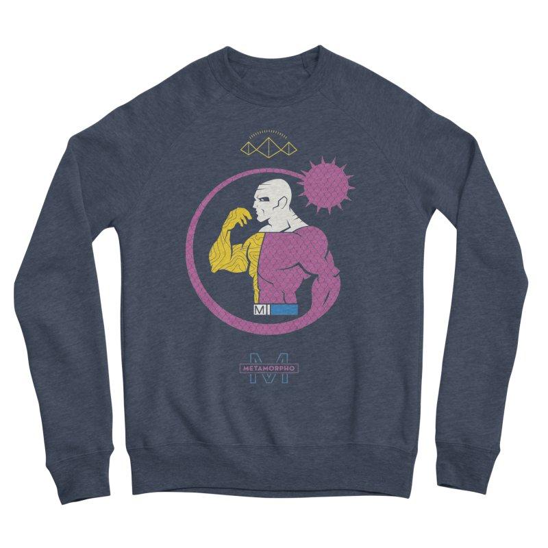 Metamorpho - DC Superhero Profiles Women's Sponge Fleece Sweatshirt by daab Creative's Artist Shop
