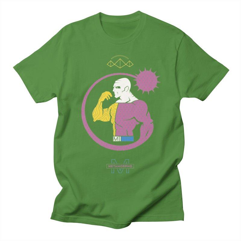Metamorpho - DC Superhero Profiles Women's Regular Unisex T-Shirt by daab Creative's Artist Shop