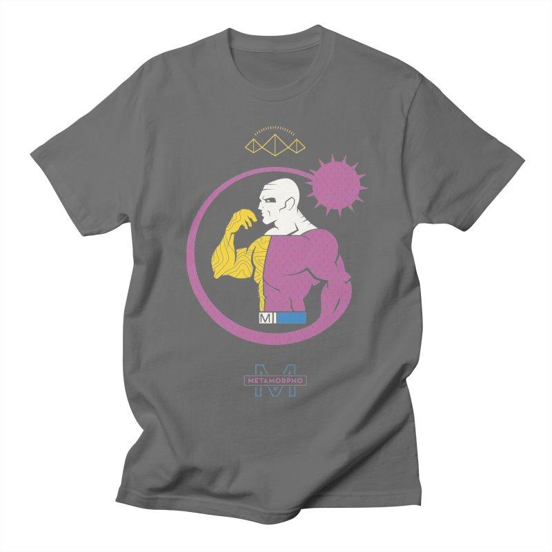 Metamorpho - DC Superhero Profiles Men's T-Shirt by daab Creative's Artist Shop