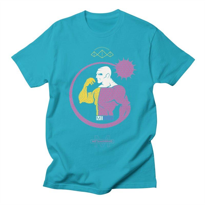 Metamorpho - DC Superhero Profiles Men's Regular T-Shirt by daab Creative's Artist Shop