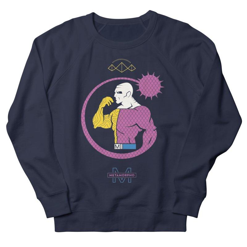Metamorpho - DC Superhero Profiles Women's French Terry Sweatshirt by daab Creative's Artist Shop
