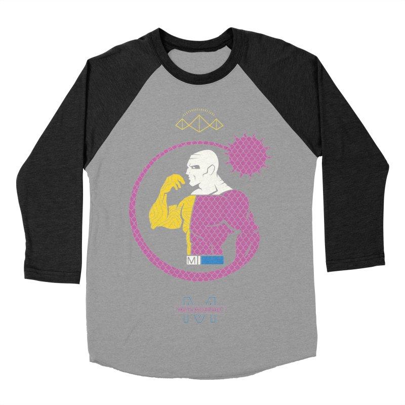 Metamorpho - DC Superhero Profiles Women's Baseball Triblend Longsleeve T-Shirt by daab Creative's Artist Shop