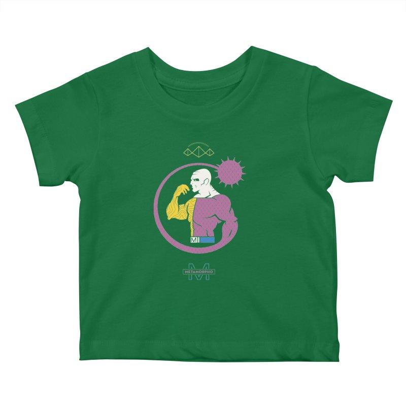 Metamorpho - DC Superhero Profiles Kids Baby T-Shirt by daab Creative's Artist Shop