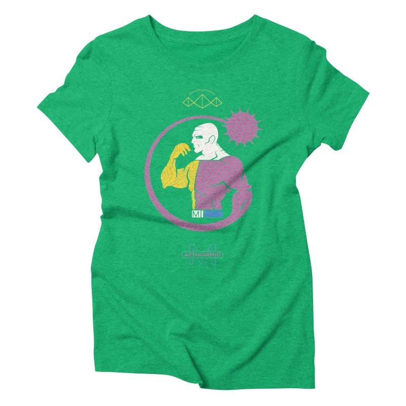 Metamorpho - DC Superhero Profiles Women's Triblend T-Shirt by daab Creative's Artist Shop