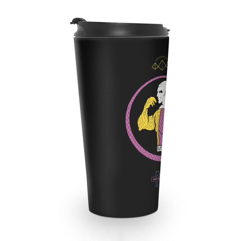 Metamorpho - DC Superhero Profiles Accessories Travel Mug by daab Creative's Artist Shop