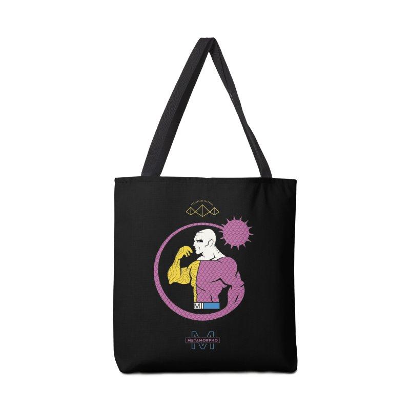Metamorpho - DC Superhero Profiles Accessories Tote Bag Bag by daab Creative's Artist Shop