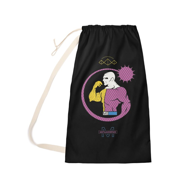 Metamorpho - DC Superhero Profiles Accessories Laundry Bag Bag by daab Creative's Artist Shop