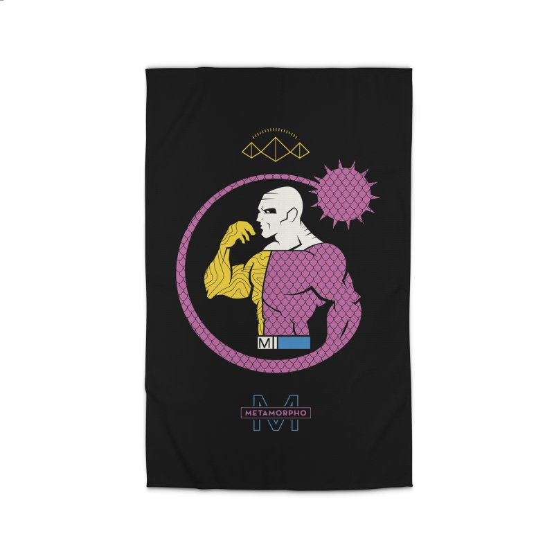 Metamorpho - DC Superhero Profiles Home Rug by daab Creative's Artist Shop