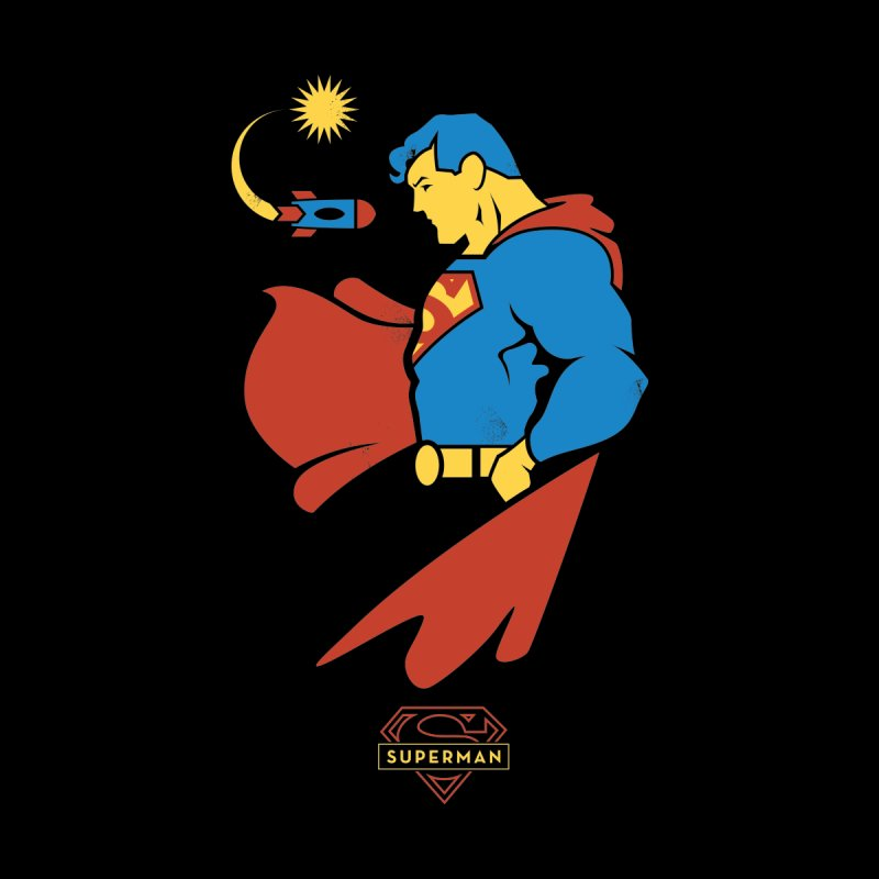 Superman - DC Superhero Profiles Accessories Sticker by daab Creative's Artist Shop