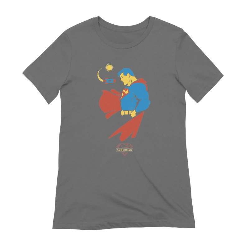 Superman - DC Superhero Profiles Women's Extra Soft T-Shirt by daab Creative's Artist Shop