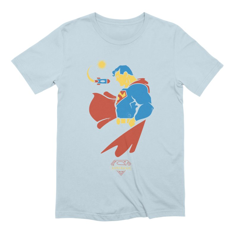 Superman - DC Superhero Profiles Men's Extra Soft T-Shirt by daab Creative's Artist Shop