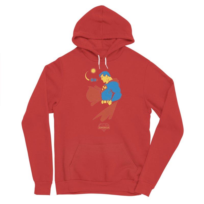 Superman - DC Superhero Profiles Men's Pullover Hoody by daab Creative's Artist Shop