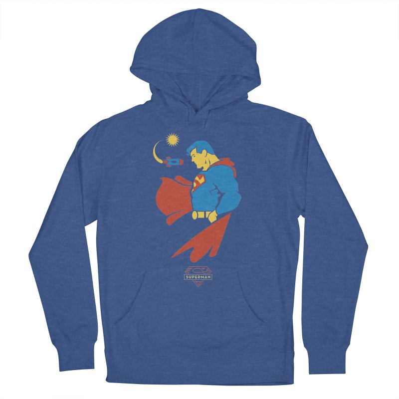Superman - DC Superhero Profiles Men's French Terry Pullover Hoody by daab Creative's Artist Shop