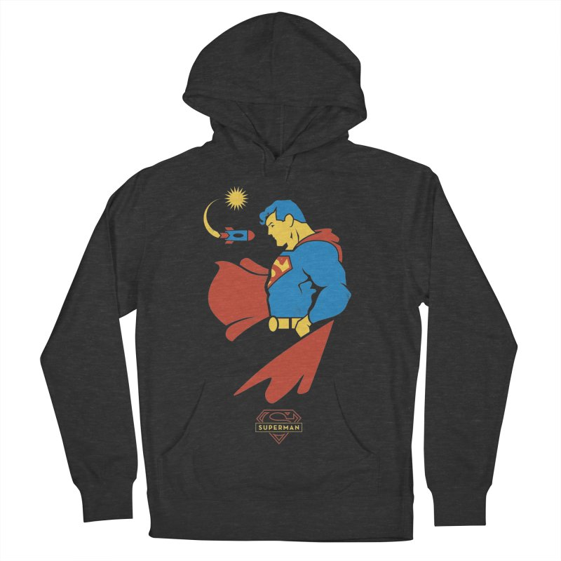 Superman - DC Superhero Profiles Women's French Terry Pullover Hoody by daab Creative's Artist Shop