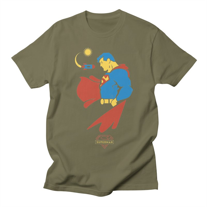 Superman - DC Superhero Profiles Women's Regular Unisex T-Shirt by daab Creative's Artist Shop
