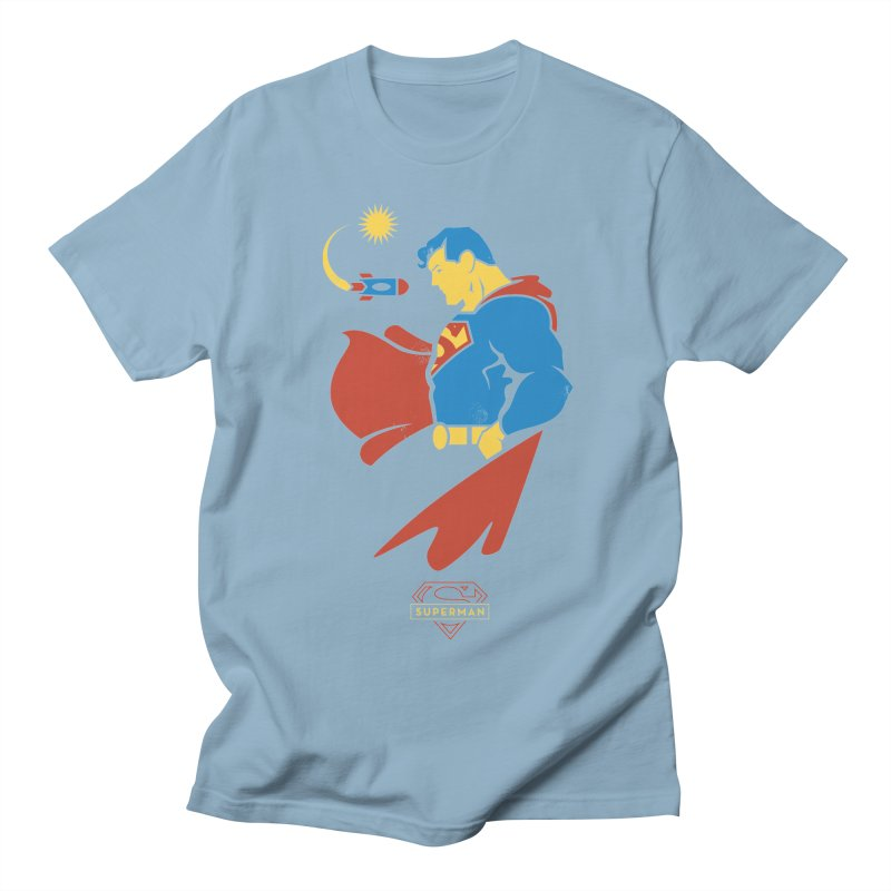Superman - DC Superhero Profiles Women's T-Shirt by daab Creative's Artist Shop