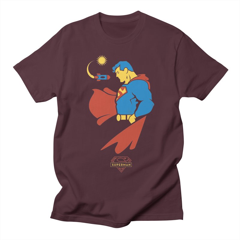 Superman - DC Superhero Profiles Men's Regular T-Shirt by daab Creative's Artist Shop