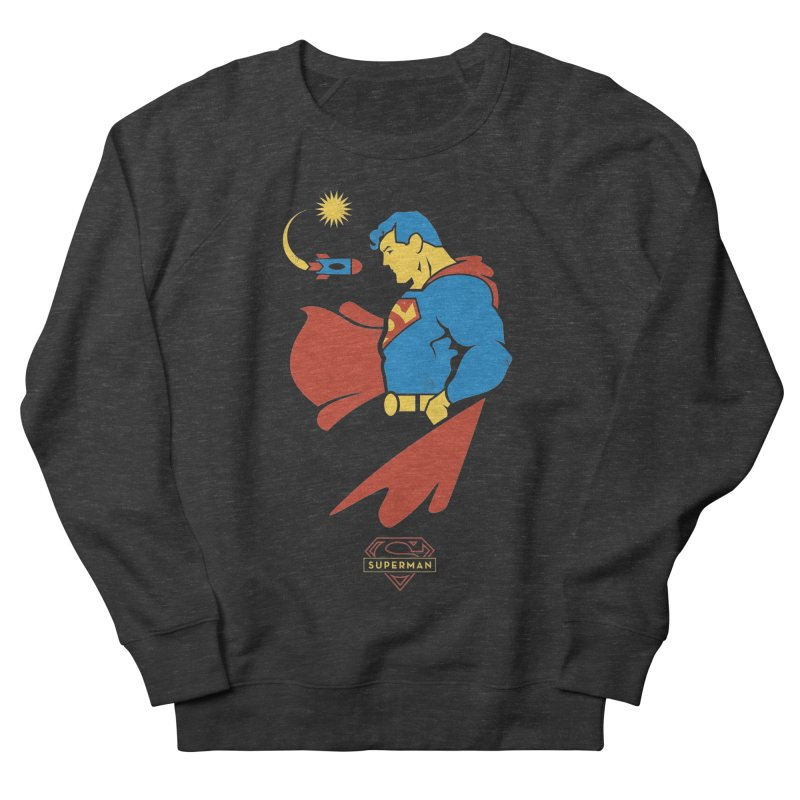 Superman - DC Superhero Profiles Women's Sweatshirt by daab Creative's Artist Shop