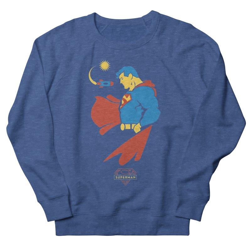 Superman - DC Superhero Profiles Men's Sweatshirt by daab Creative's Artist Shop