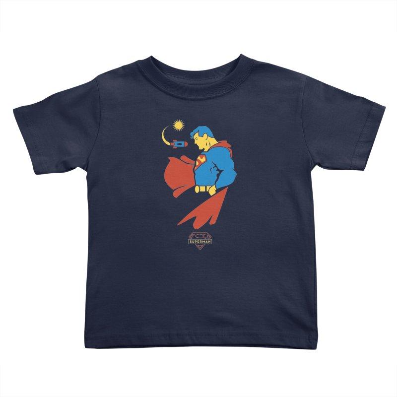 Superman - DC Superhero Profiles Kids Toddler T-Shirt by daab Creative's Artist Shop