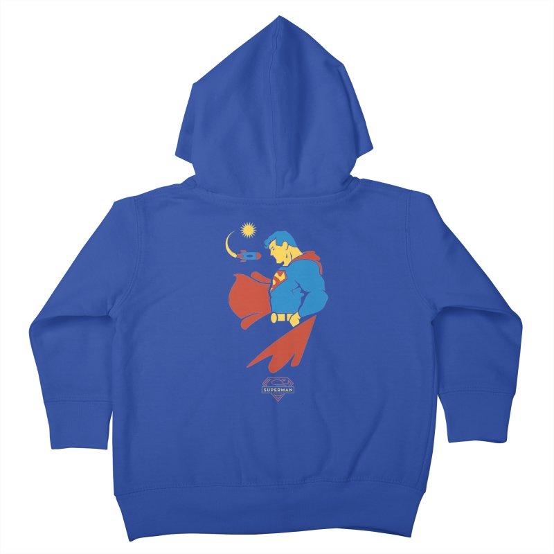 Superman - DC Superhero Profiles Kids Toddler Zip-Up Hoody by daab Creative's Artist Shop