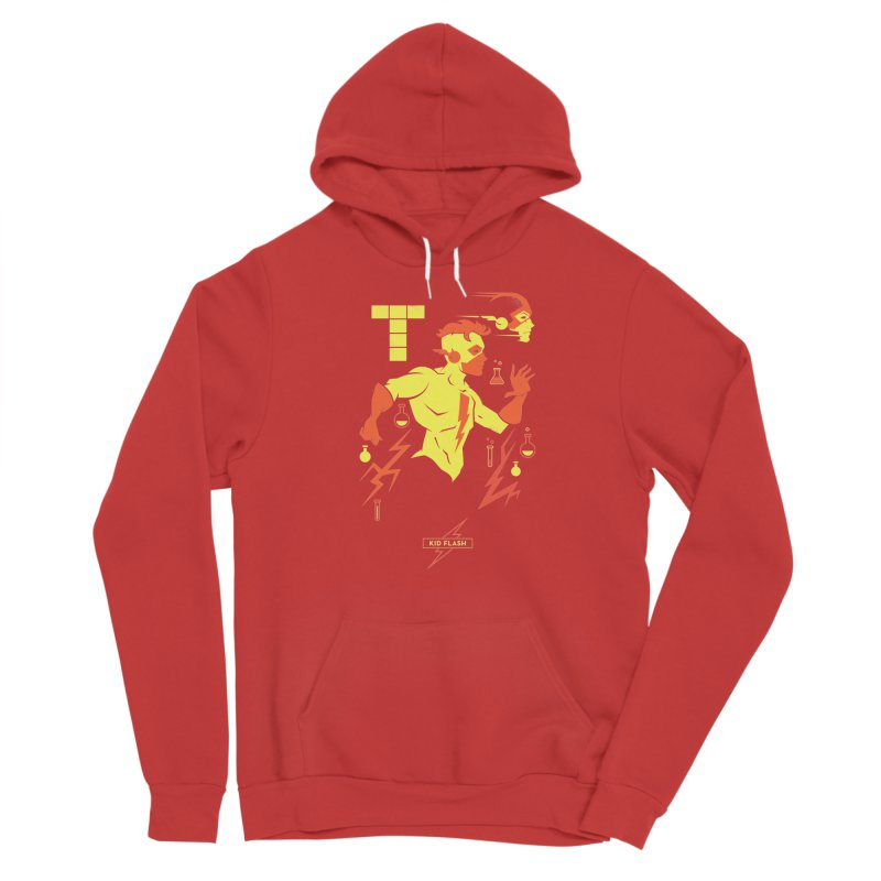 Kid Flash - DC Superhero Profiles Men's Pullover Hoody by daab Creative's Artist Shop