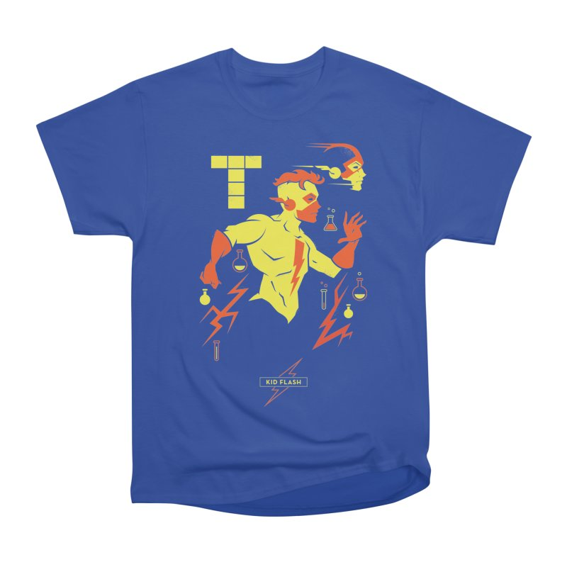 Kid Flash - DC Superhero Profiles Women's T-Shirt by daab Creative's Artist Shop