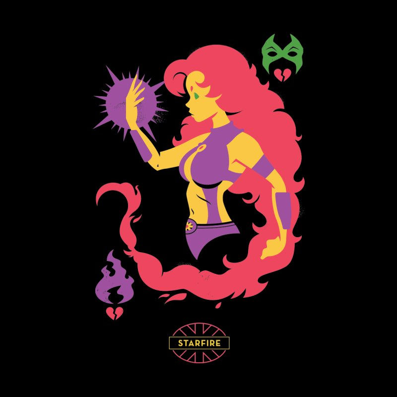 Starfire - DC Superhero Profiles by daab Creative's Artist Shop