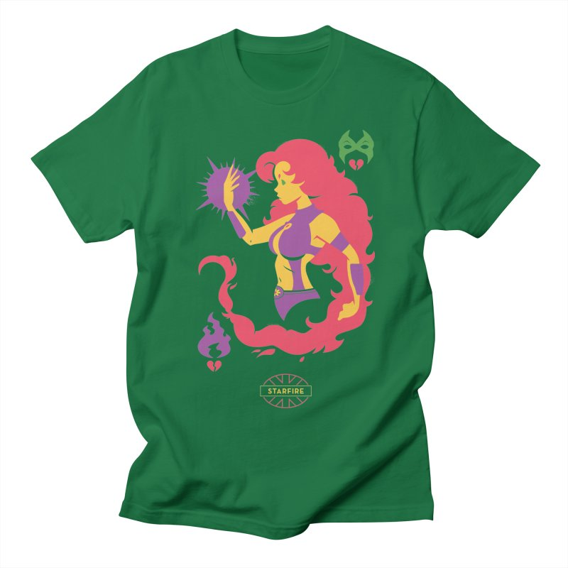 Starfire - DC Superhero Profiles Women's Regular Unisex T-Shirt by daab Creative's Artist Shop
