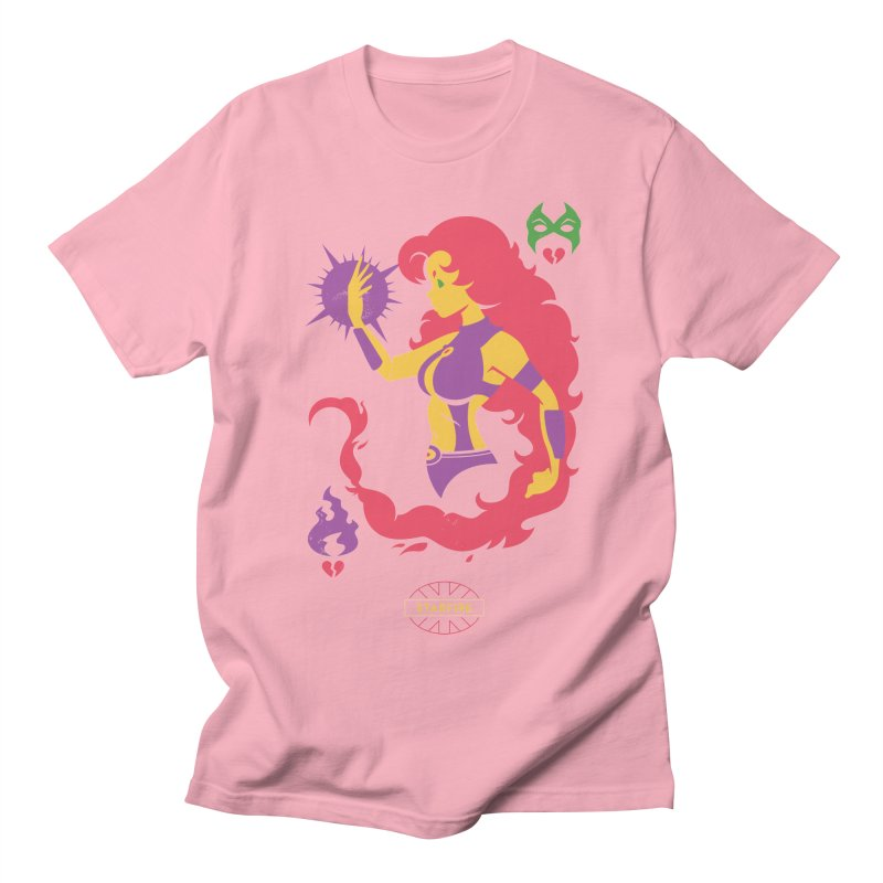 Starfire - DC Superhero Profiles Women's Regular Unisex T-Shirt by daab Creative's Artist Shop