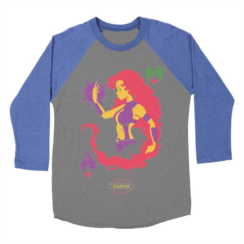 Starfire - DC Superhero Profiles Women's Longsleeve T-Shirt by daab Creative's Artist Shop