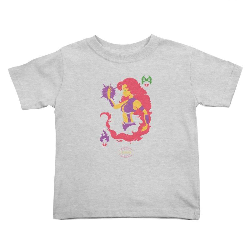 Starfire - DC Superhero Profiles Kids Toddler T-Shirt by daab Creative's Artist Shop
