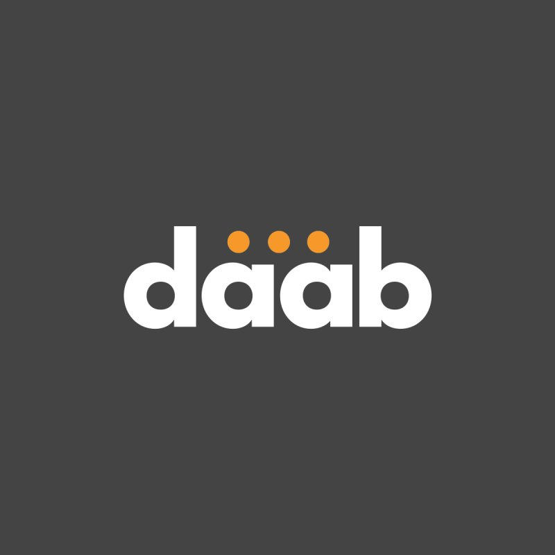 Daab Creative Branded Tee by daab Creative's Artist Shop