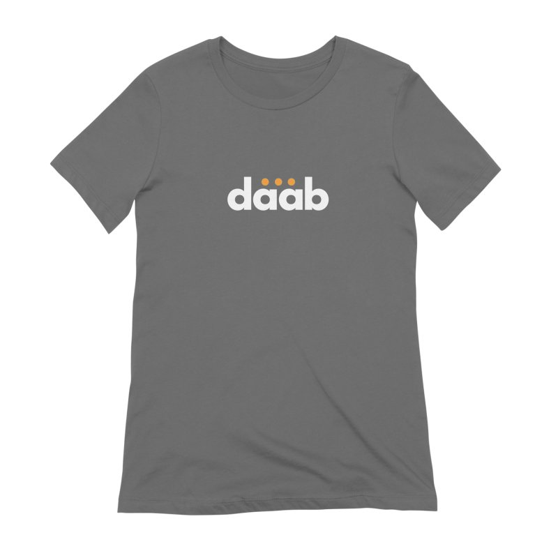 Daab Creative Branded Tee Women's Extra Soft T-Shirt by daab Creative's Artist Shop