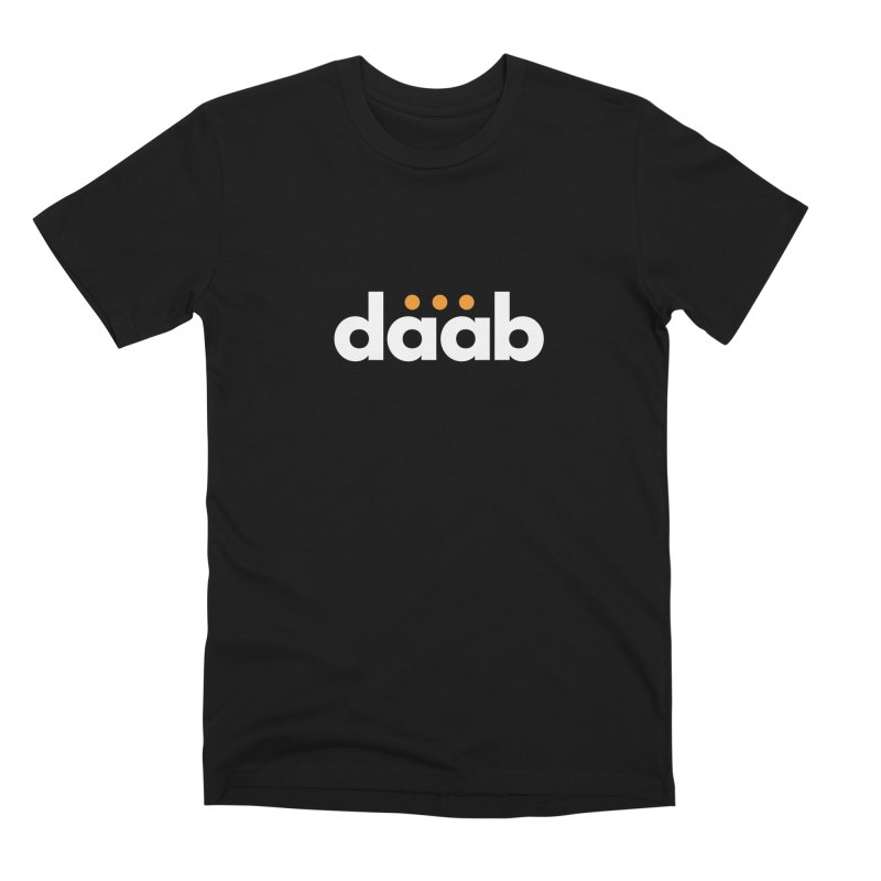 Daab Creative Branded Tee Men's Premium T-Shirt by daab Creative's Artist Shop