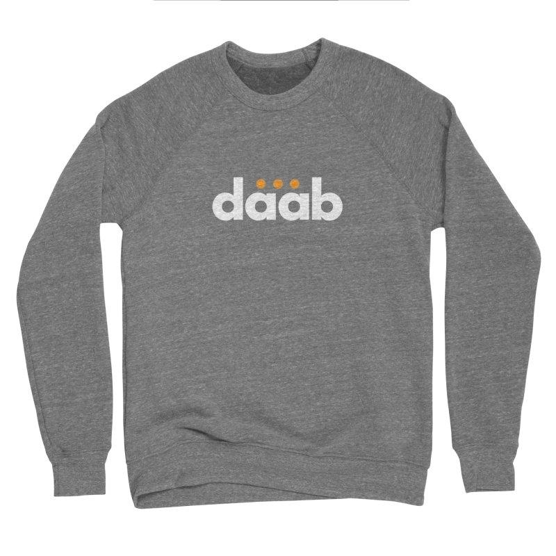 Daab Creative Branded Tee Men's Sponge Fleece Sweatshirt by daab Creative's Artist Shop