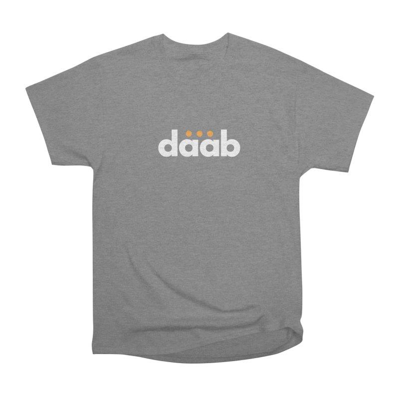 Daab Creative Branded Tee Men's Heavyweight T-Shirt by daab Creative's Artist Shop