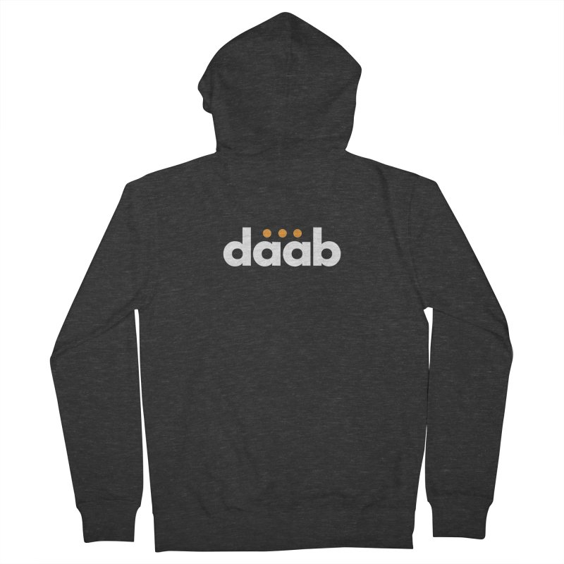 Daab Creative Branded Tee Women's French Terry Zip-Up Hoody by daab Creative's Artist Shop